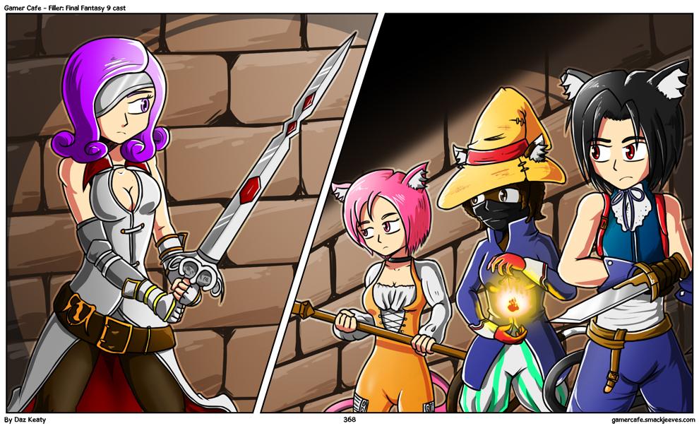 Filler: Final Fantasy 9 cast