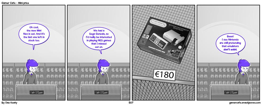 Mini price