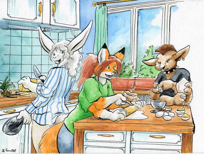 Filler VIII: Cooking Time