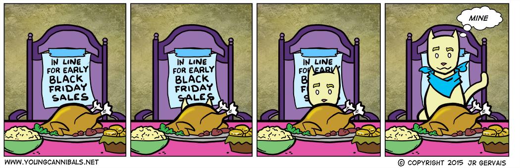 The Thursday Before Black Friday (AKA Thanksgiving or Pre-Black Friday)