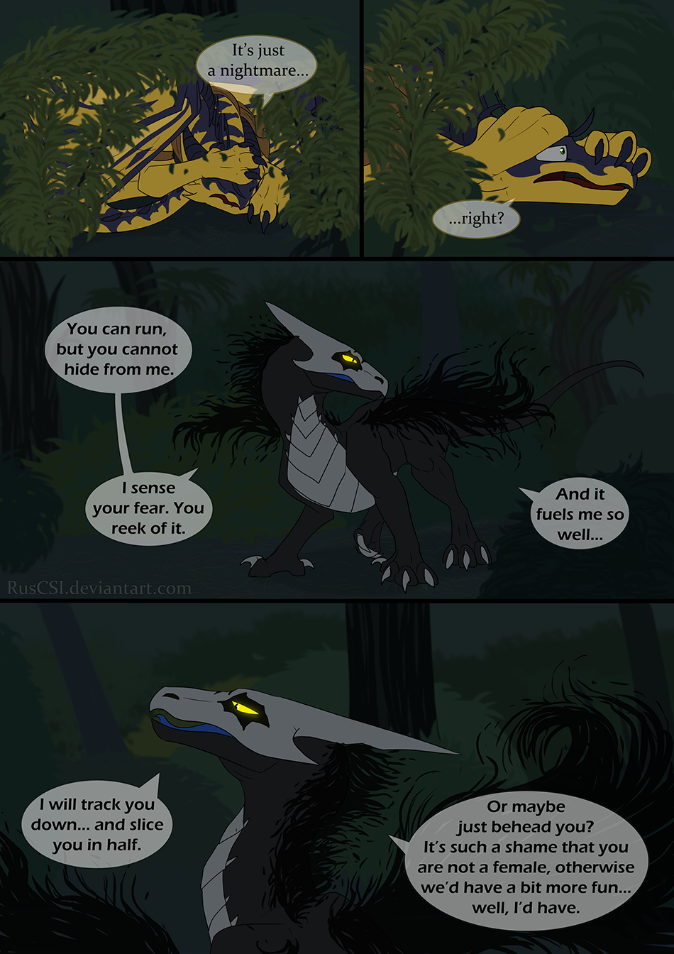 Courage of the cowardly dragon - page 41