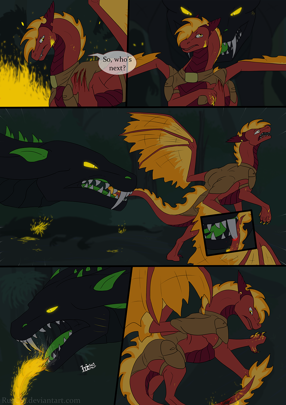 Courage of the cowardly dragon - page 42