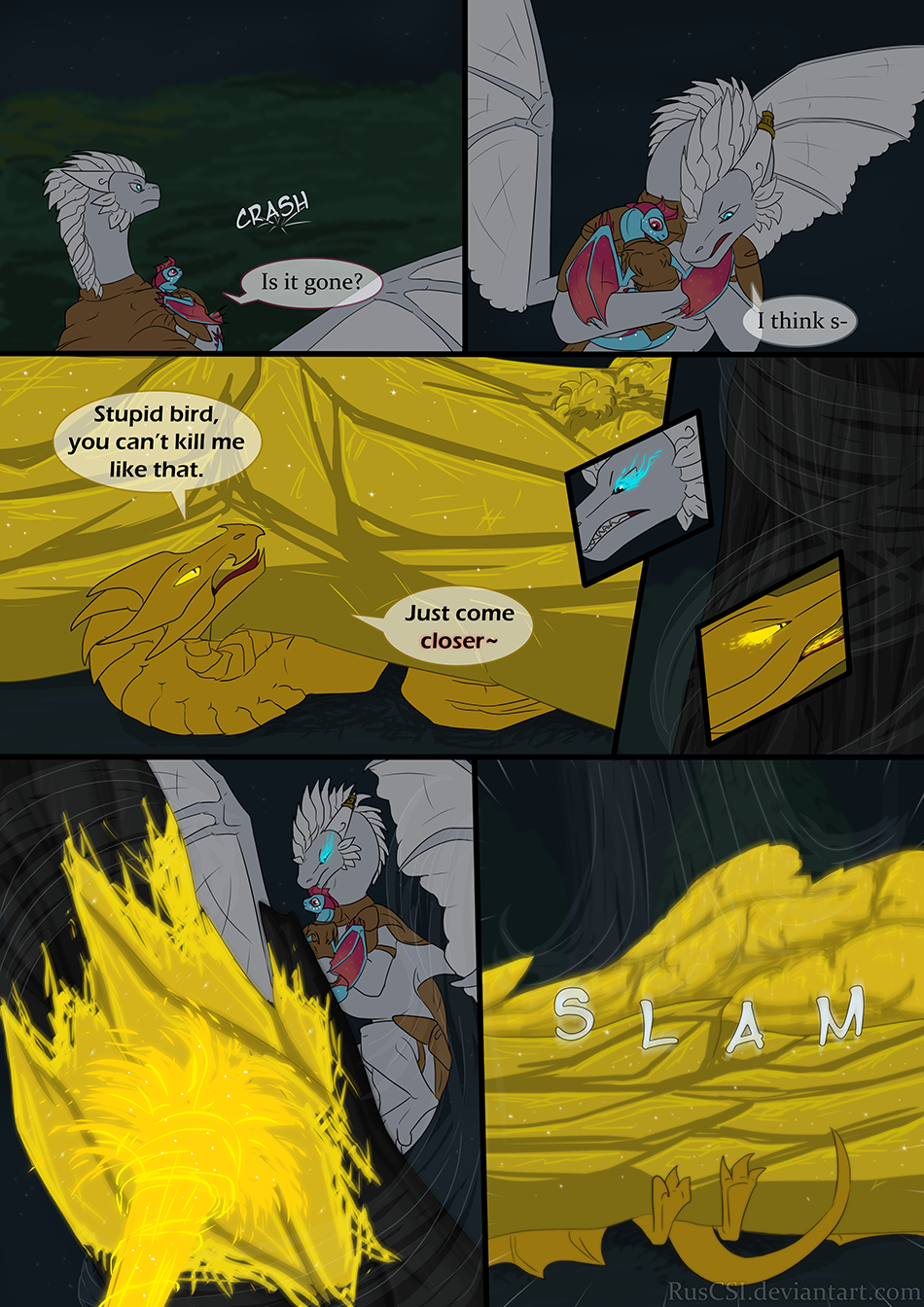 Courage of the cowardly dragon - page 44