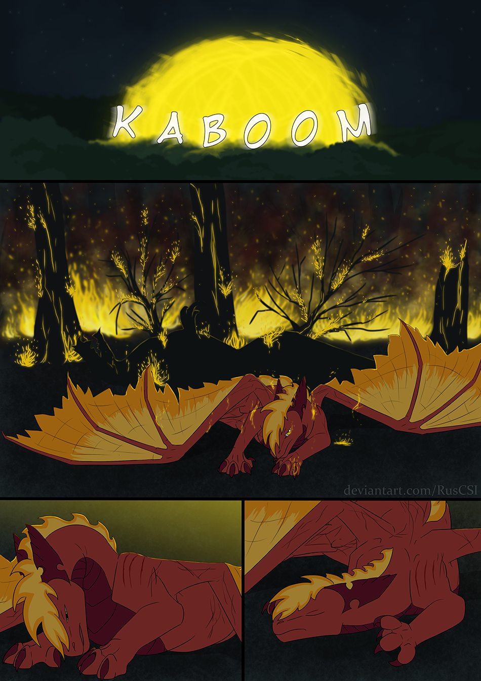 Courage of the cowardly dragon - page 46