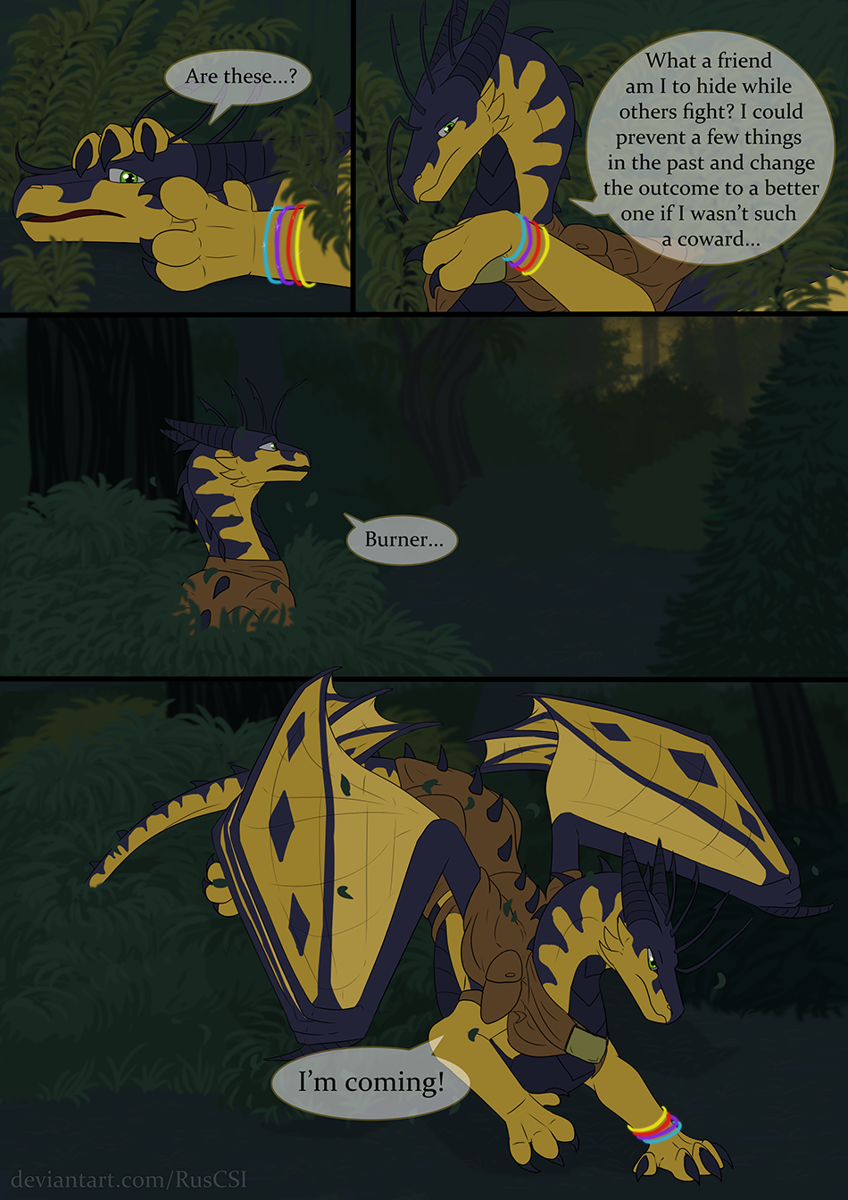 Courage of the cowardly dragon - page 47