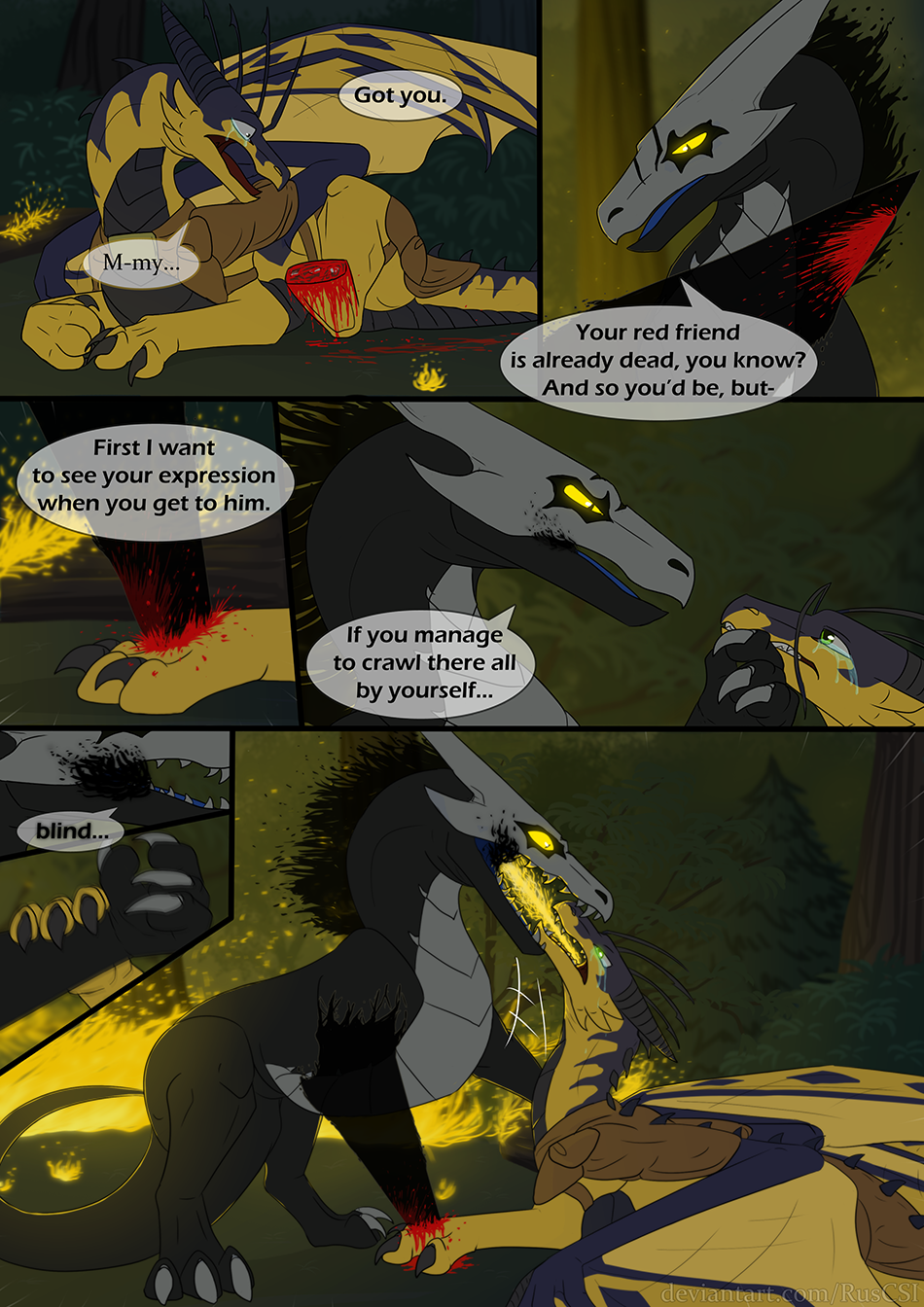 Courage of the cowardly dragon - page 49