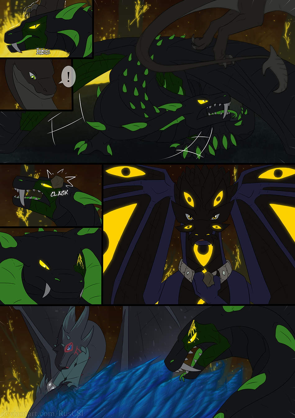 Courage of the cowardly dragon - page 55