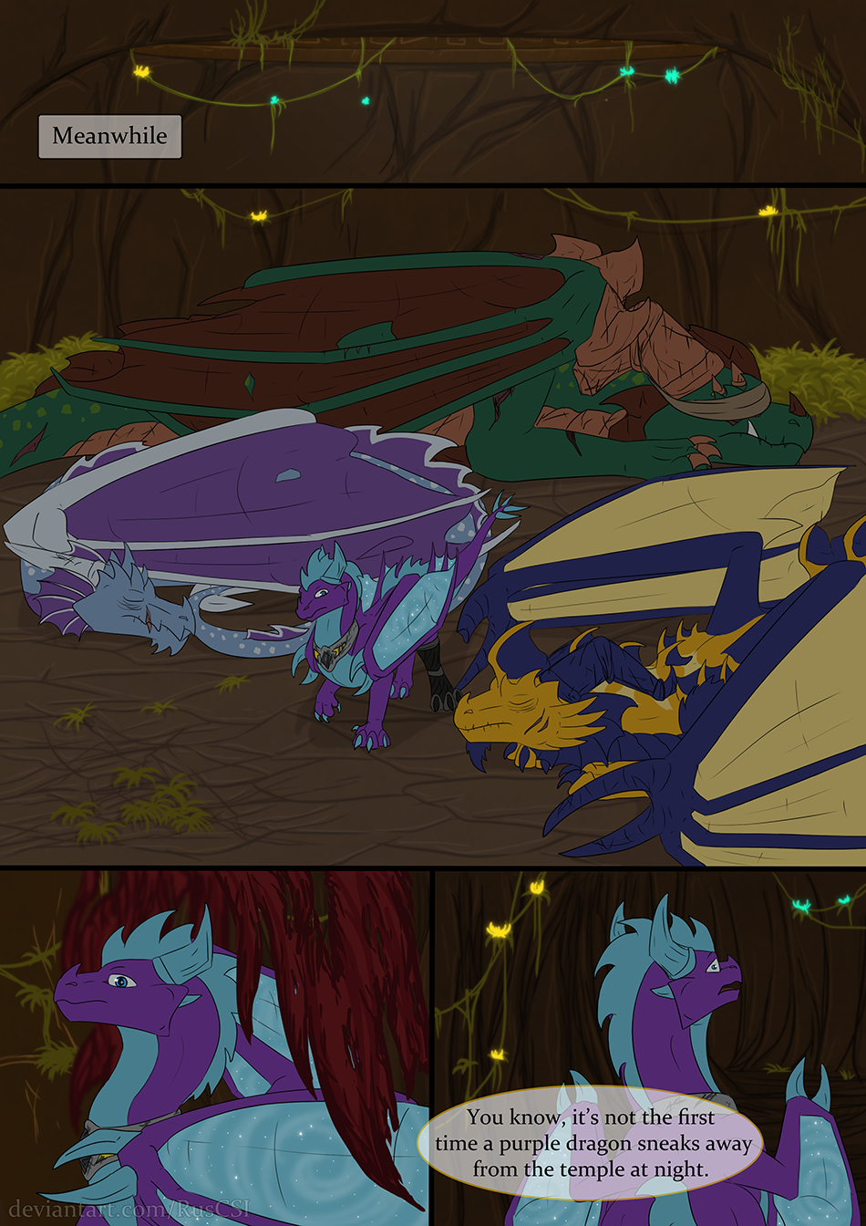 Courage of the cowardly dragon - page 58