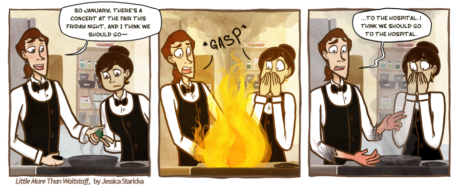 47. Relationship Status: On Fire