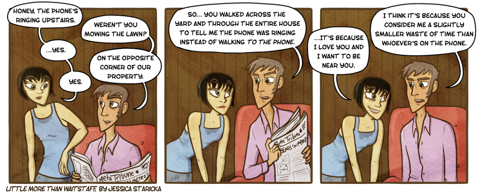 95. This Strip Involves Phone Calls