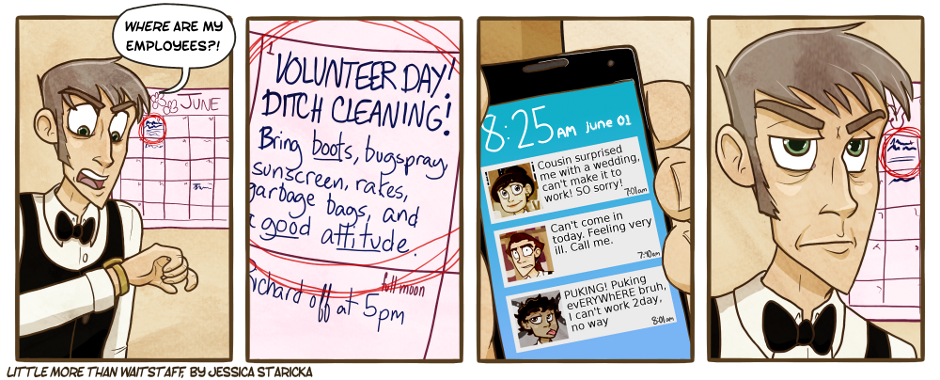 113. Ditch Cleaning Day