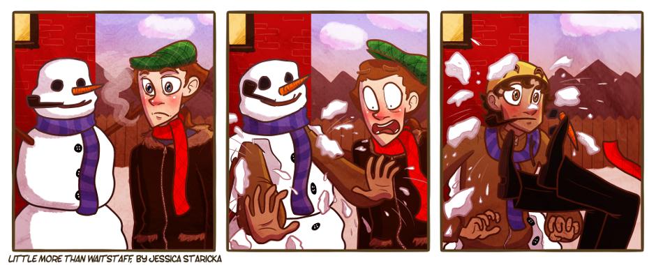 137. Snowman, Man!