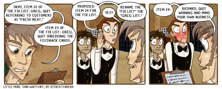 184. The Fix List