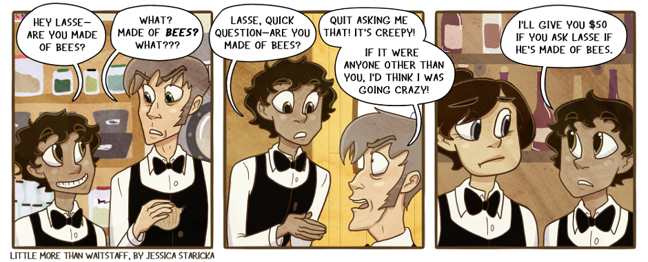 207. BEES? BEES!