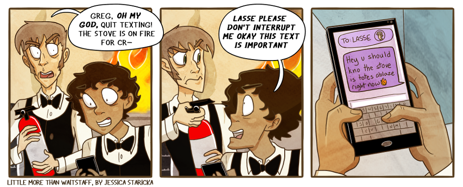 218. How many fires have been in this comic?