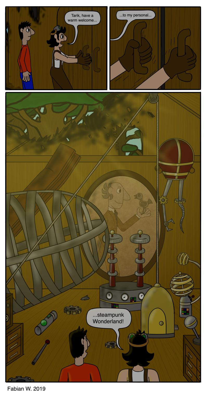 Steampunk Wonderland