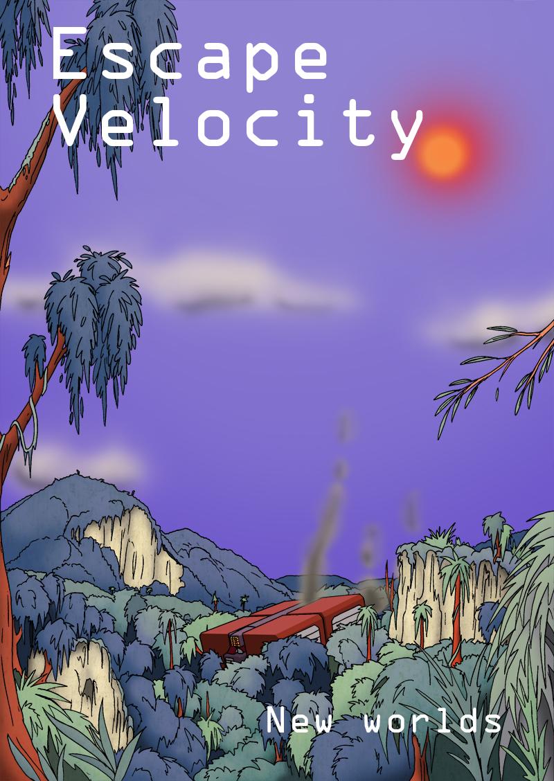 Escape velocity New worlds cover