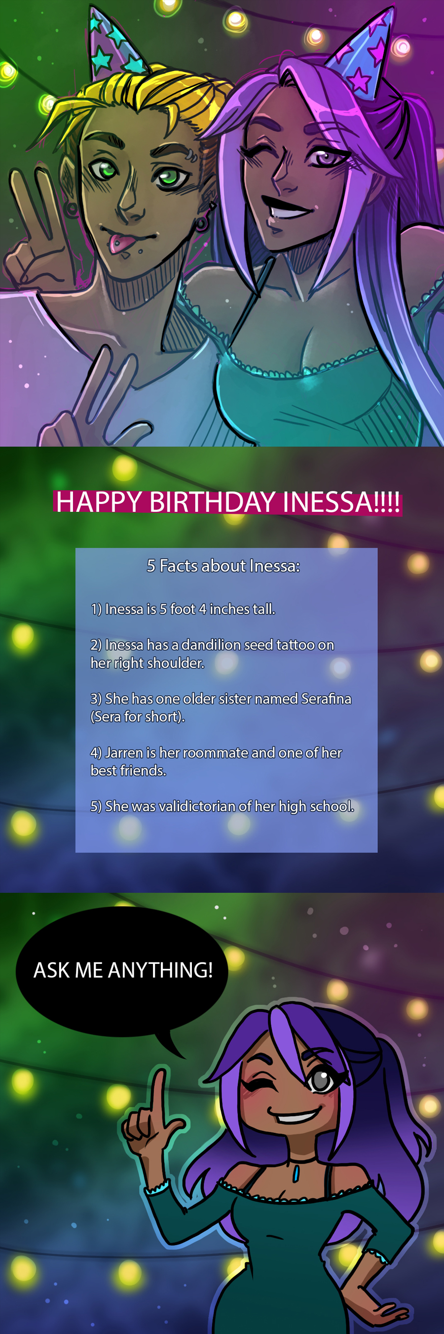 INESSA BIRTHDAY BASH SPECIAL
