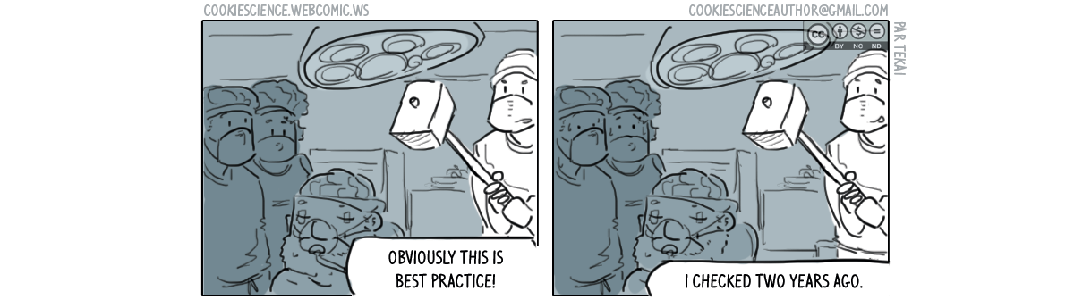 440 - Best practice of some time ago