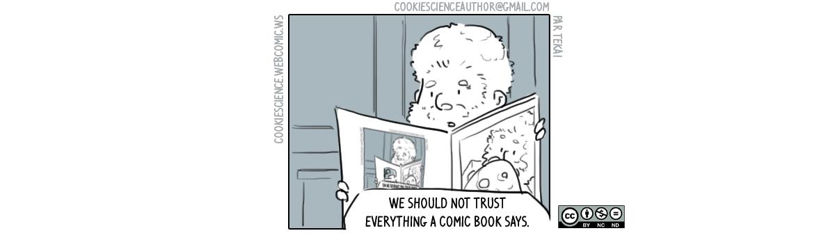 406 - Don't trust the comics!