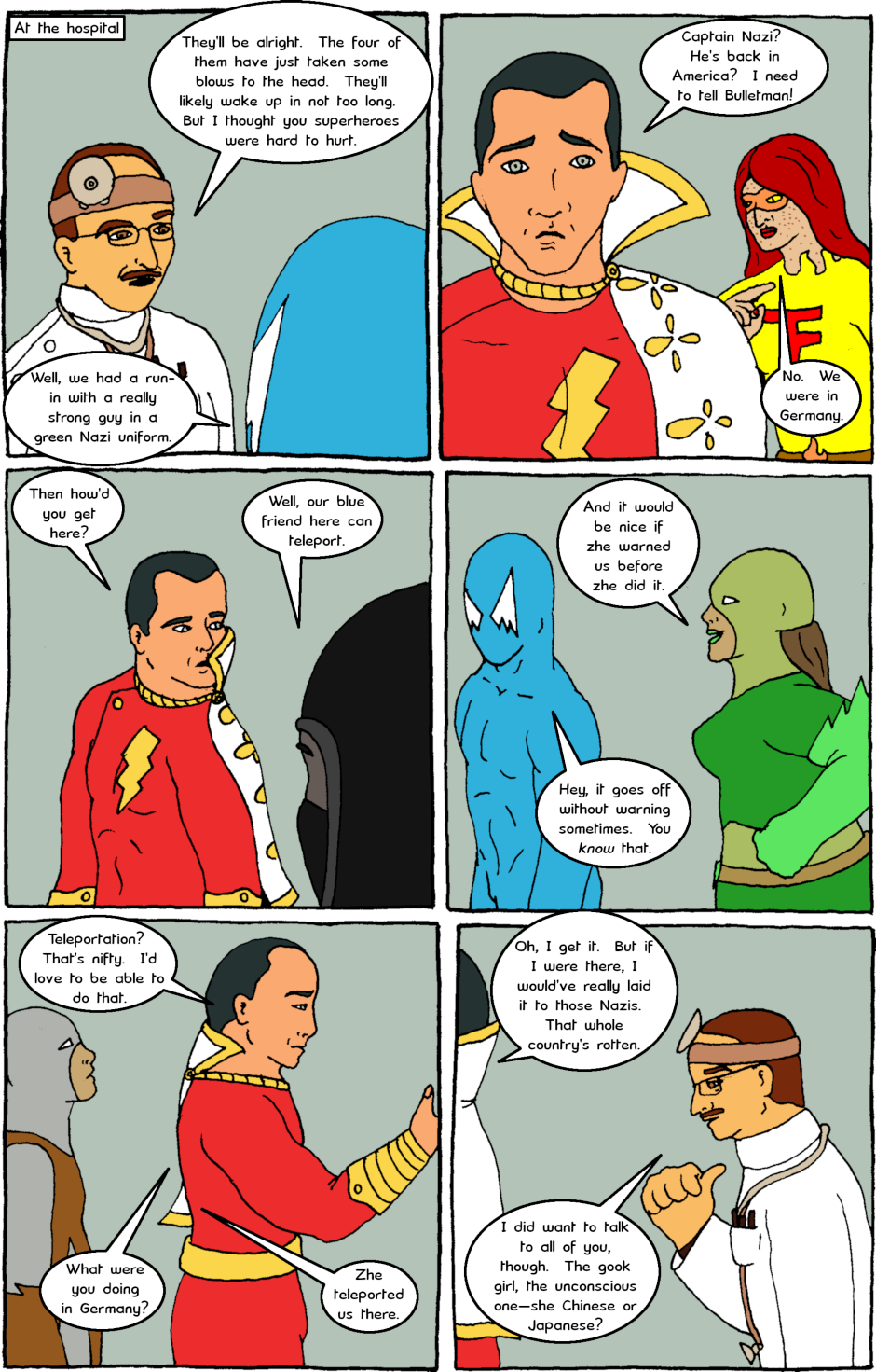Page 7: issue 12 - The Big Apple and the Big Red Cheese
