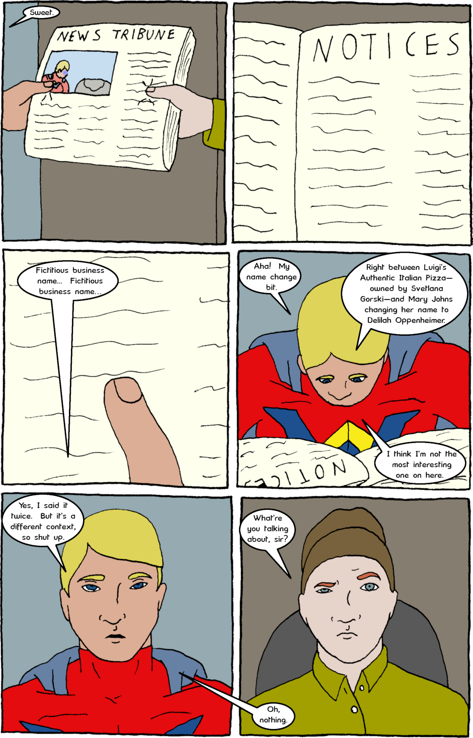 Page 8: issue 2 - Action and Inaction