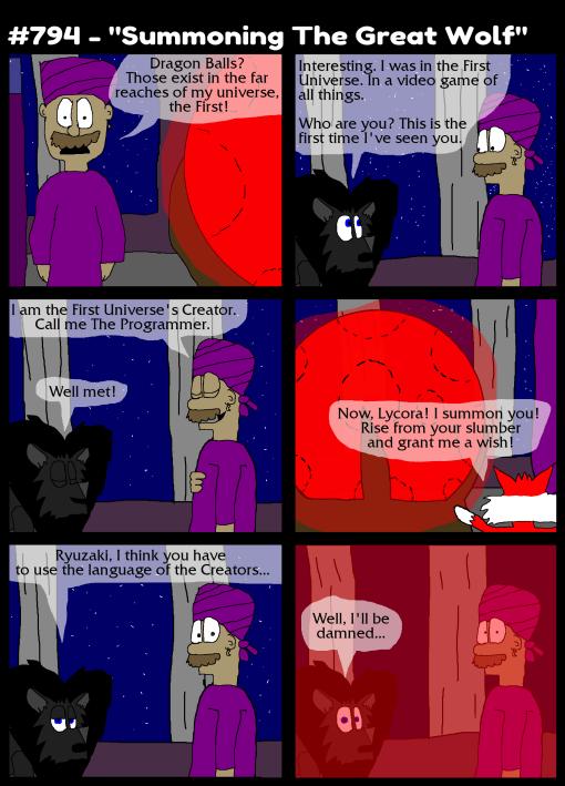 "#794 - ""Summoning The Great Wolf"""