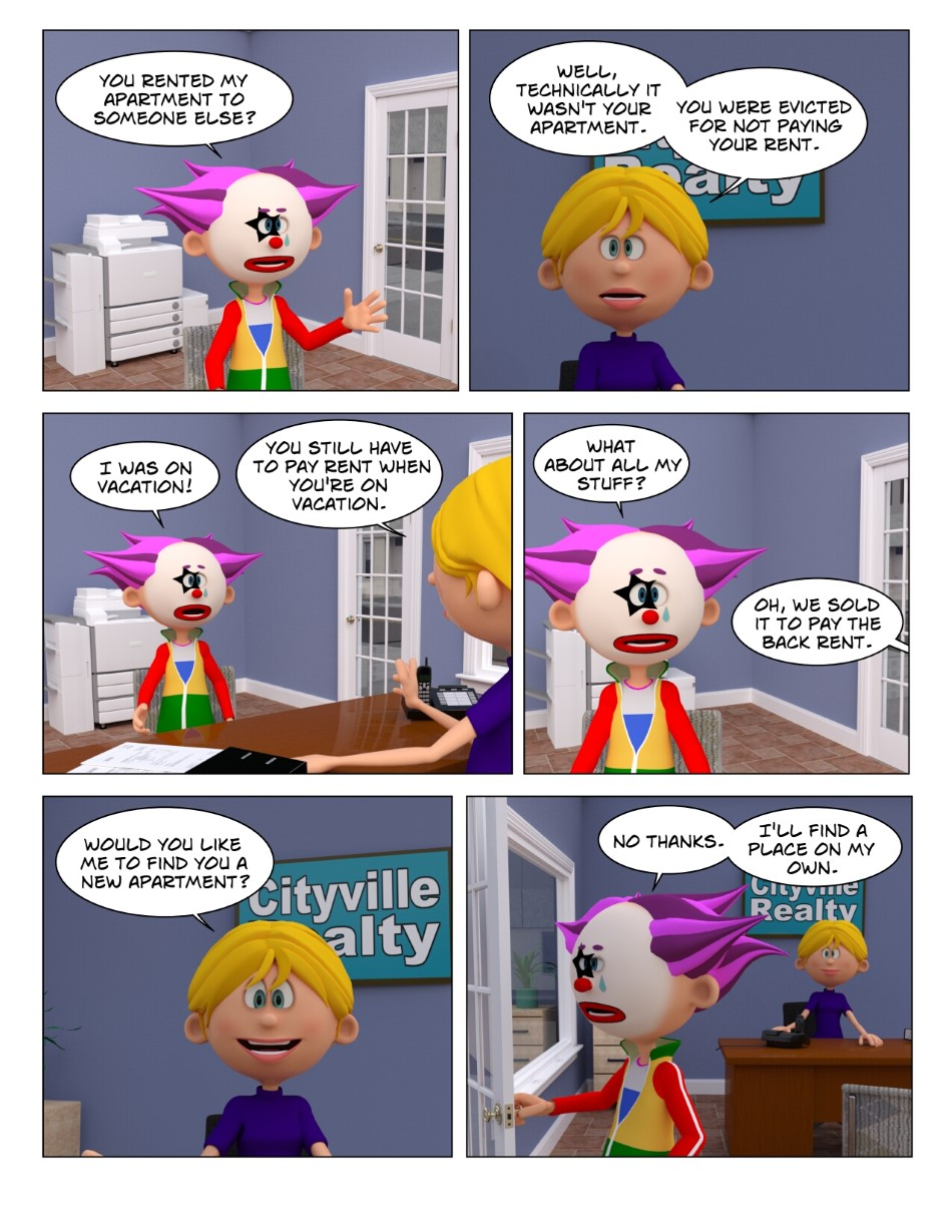 Clowning Around #4