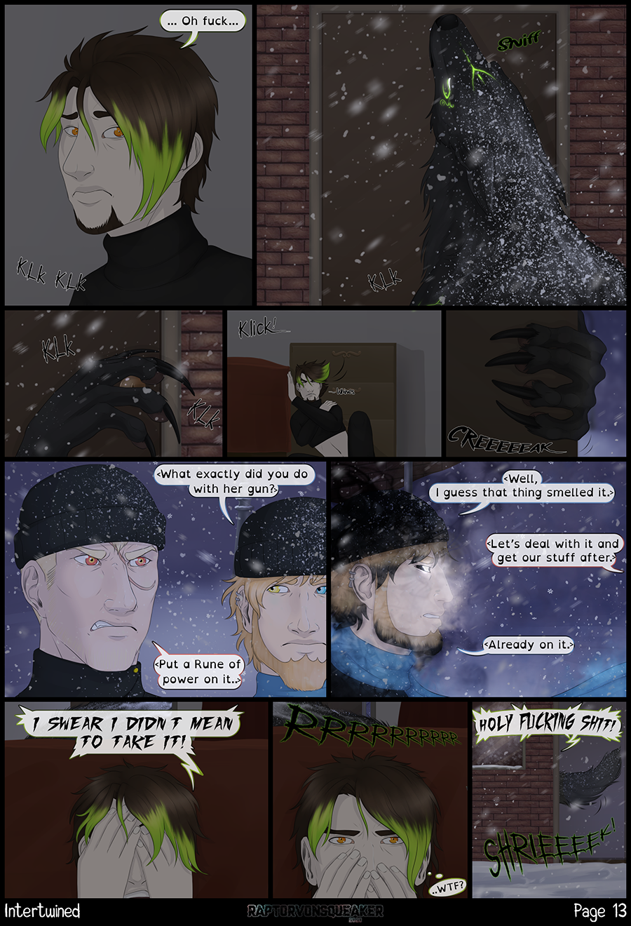 Page 13 - Good plans never works.