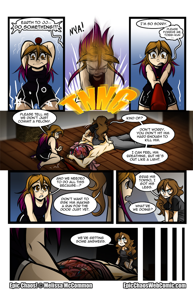 Epic Chaos! Chapter 2 Page 35
