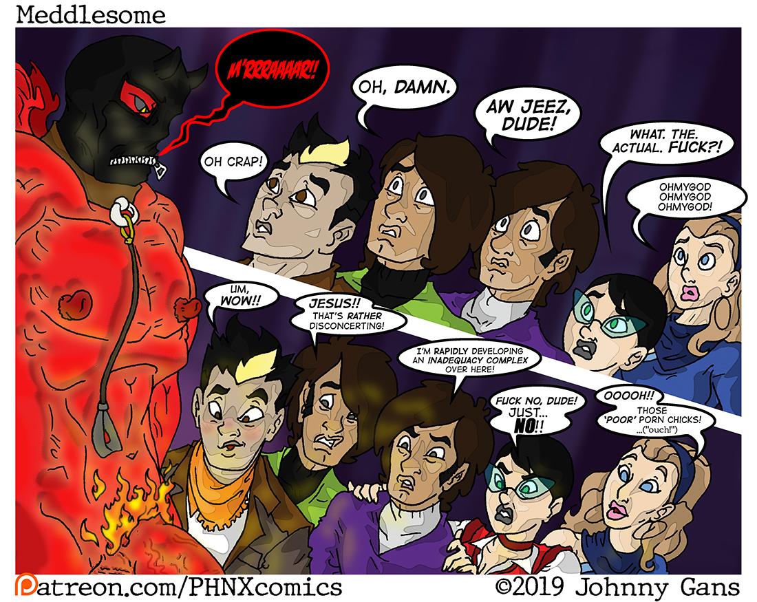 Meddlesome: The Firecrotch Phantom 004