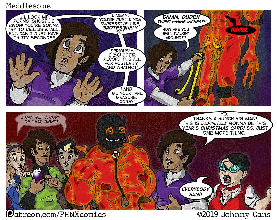 Meddlesome: The Firecrotch Phantom 005