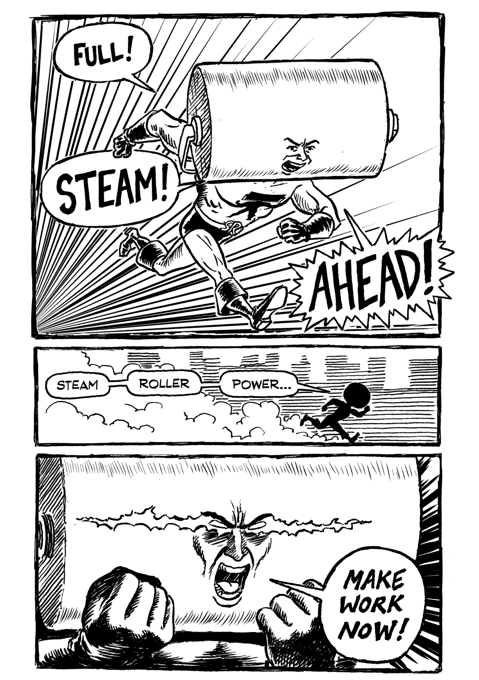 Issue One, Page Seven
