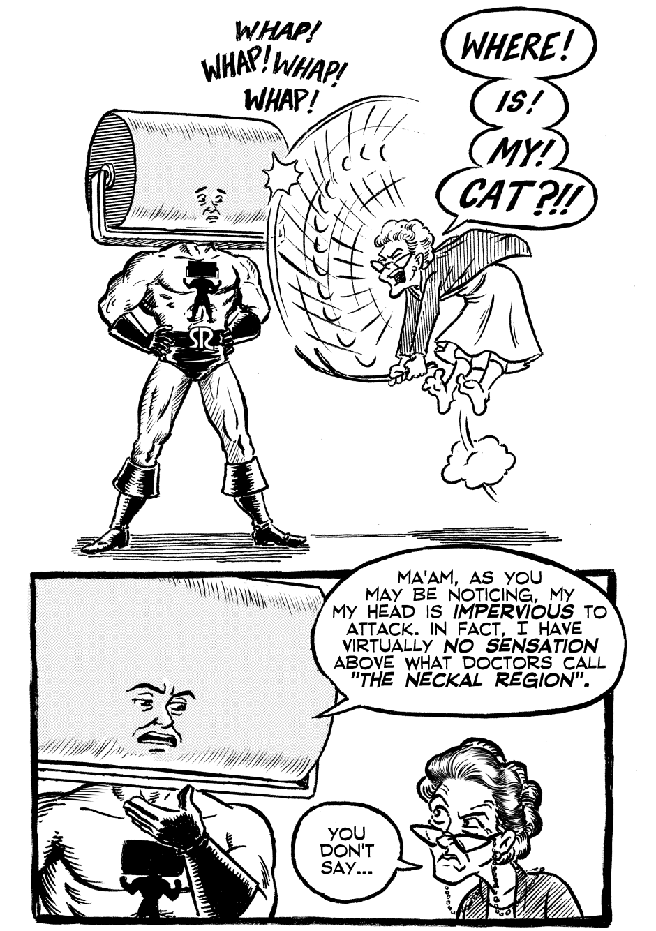 Issue One, Page Ten