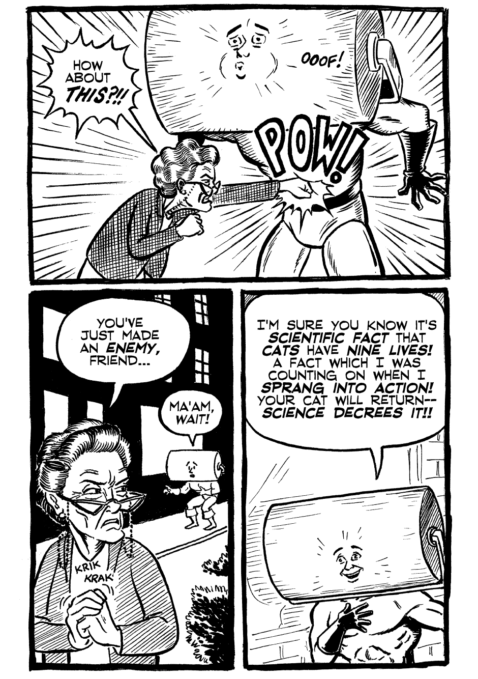 Issue One, Page Eleven