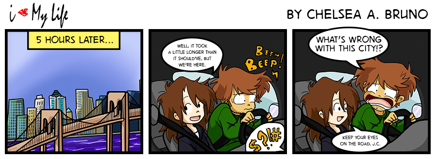 Comic 24: Driving Lesson 5