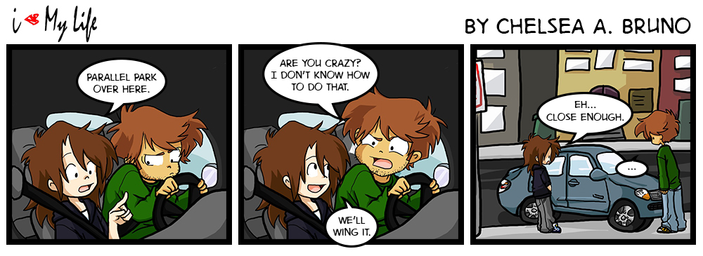 Comic 25: Driving Lesson 6