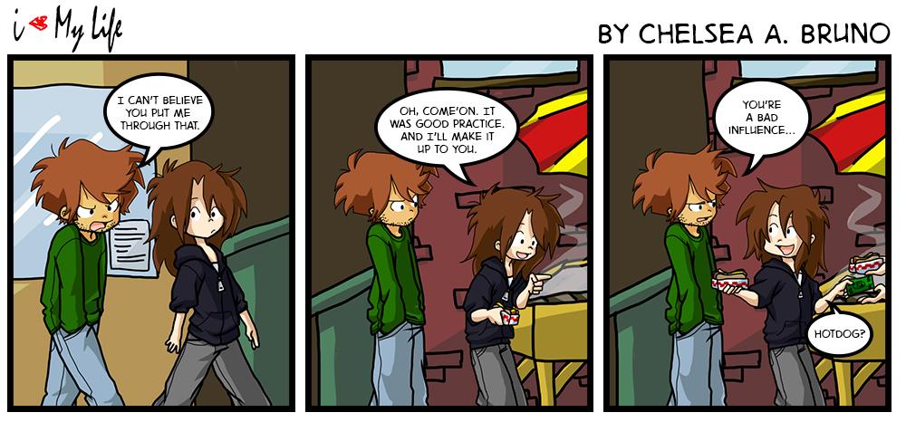 Comic 27: Driving Lesson 7