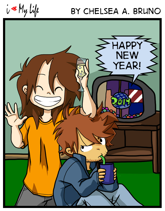 Comic 28: Happy New Year '14