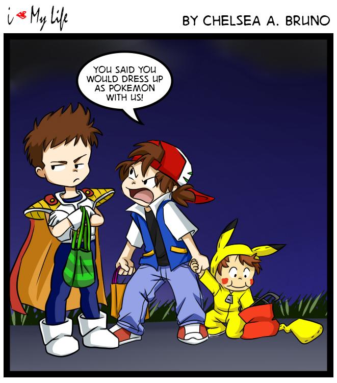 Comic 63: Halloween '14