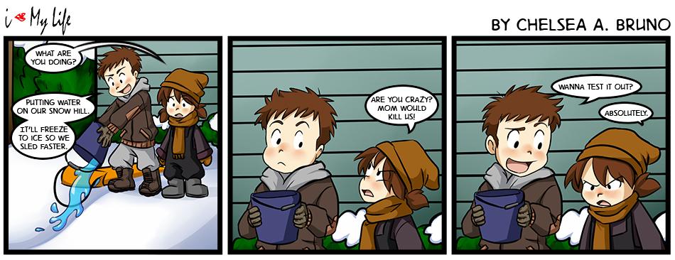 Comic 76: Sled