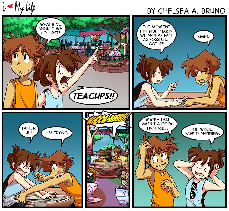 Comic 107: Teacups