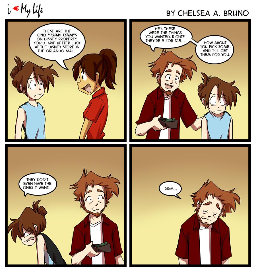 Comic 115: Tsum Tsum Search 4