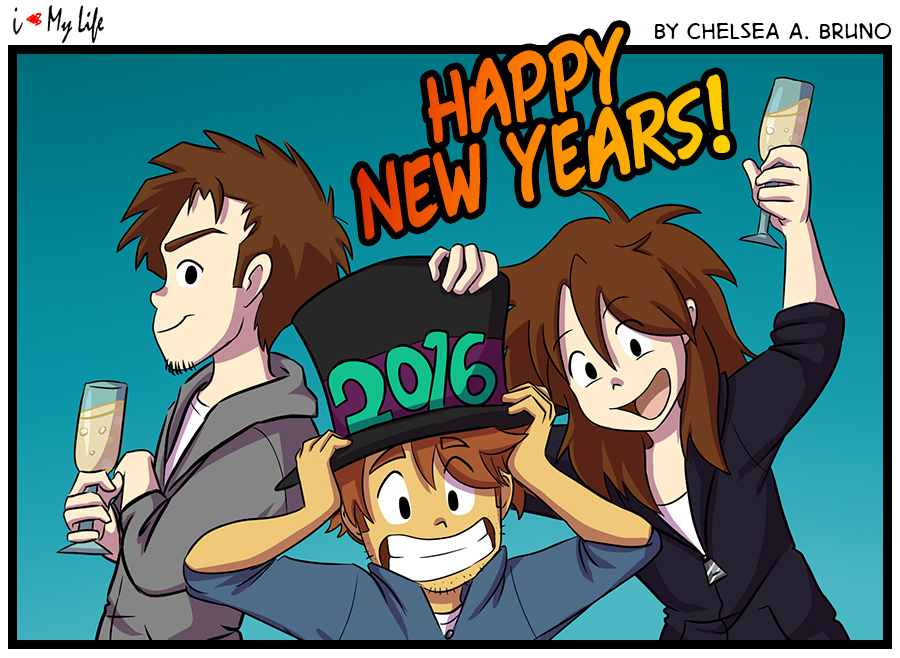 Comic 112: Happy New Year '16