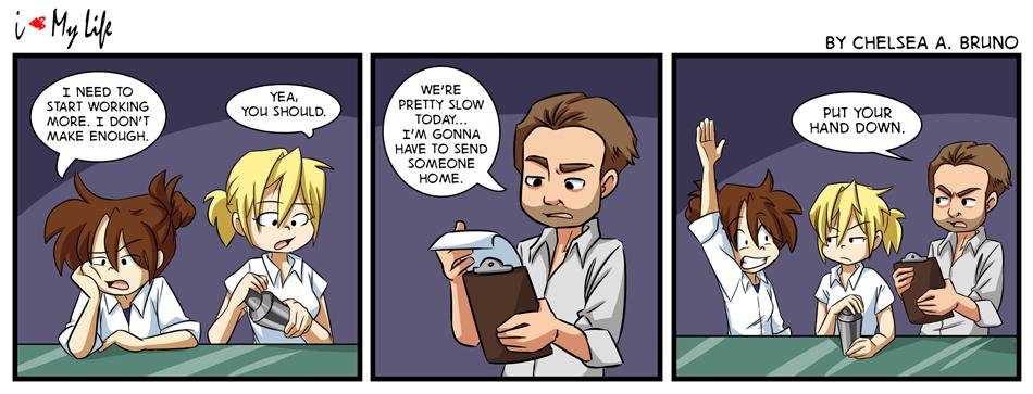 Comic 134: Working