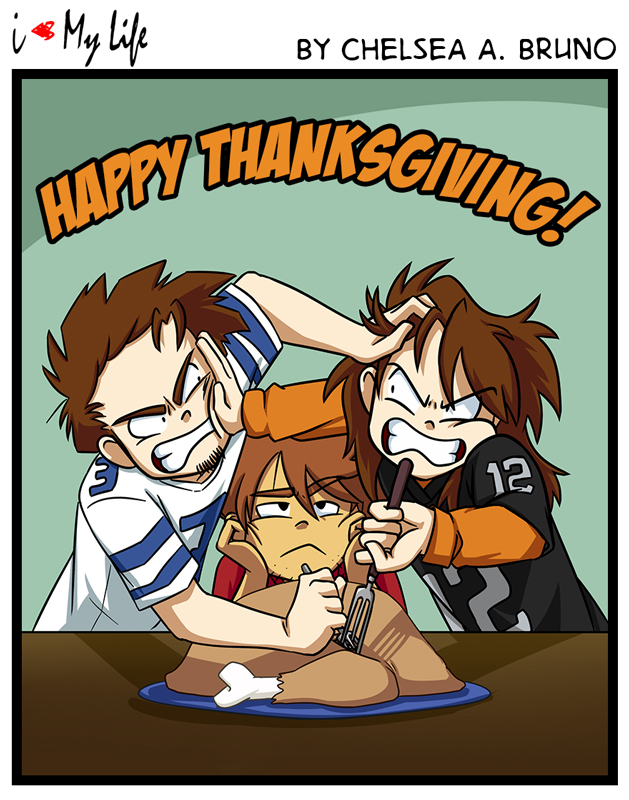 Comic 136: Thanksgiving '16