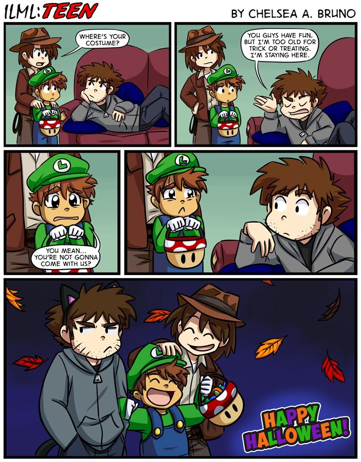 Comic 206: Halloween '19