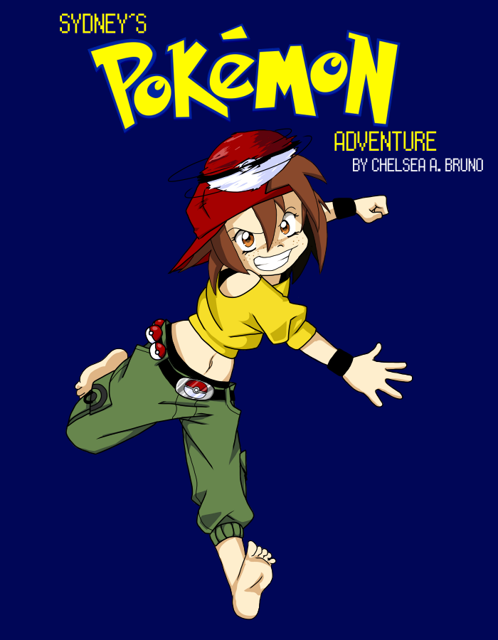 Sydney's Pokemon Adventure - Title Cover