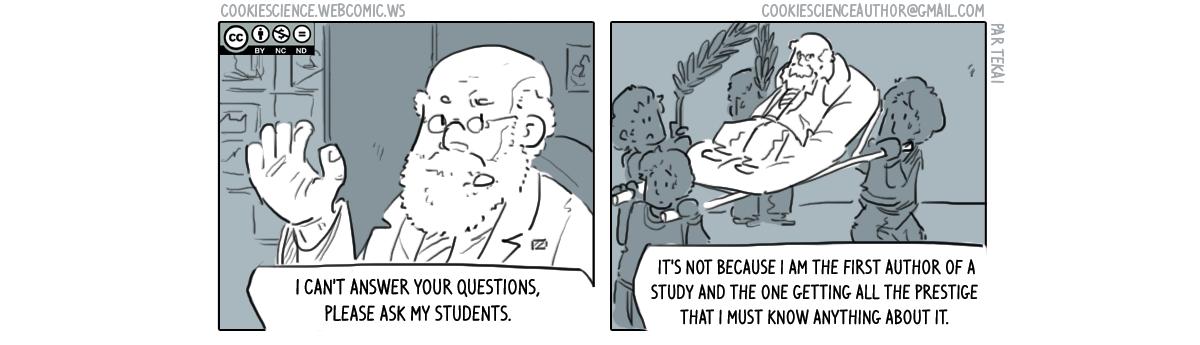 394 - Using grad students as slaves
