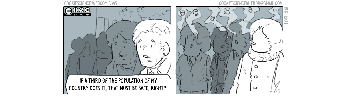 337 - Everyone does it, it must be safe, right?